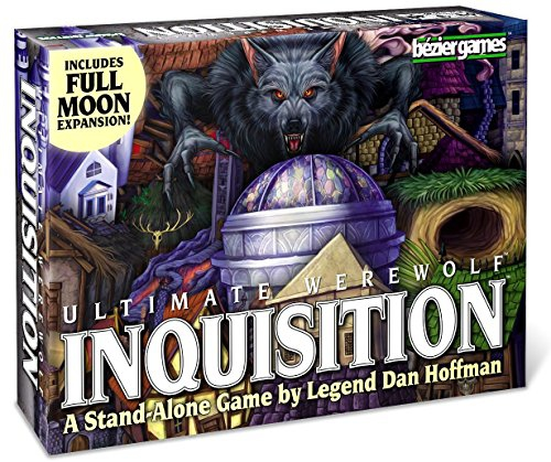 Pegasus Spiele GmbH Ultimate Werewolf Inquisition Board Game