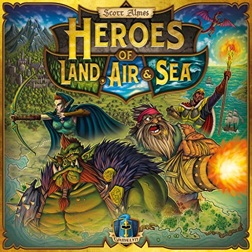 Heroes of Land, Air & Sea - English