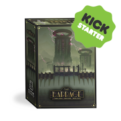 Barrage game Kickstarter Exclusive including the Core Box, the Leegh Water Project Expansion and the Exclusive Box