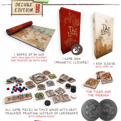 Tao Long: The Way of the Dragon Deluxe KS edition with 4 player expansion