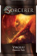 White Wizard Games SORCERER: VIRGILIU CHARACTER PACK - English