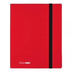 Ultra Pro E-15146 Eclipse 9-Pocket PRO-Binder-Apple Red