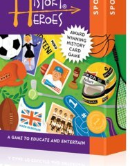 History Heroes: SPORT, a family card game about some of the greatest sportsmen & women in history