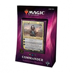 Magic The Gathering Commander 2018 - Subjective Reality