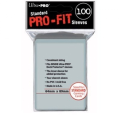 Ultra Pro - Pro-Fit Standard Size Deck Protectors 100ct UP82712