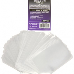 Standard USA Game Size Sleeves (100) 56mmx87mm