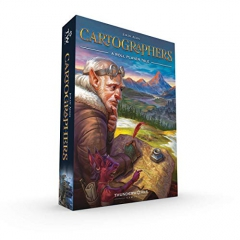 Thunderworks Games TWK4050 Cartographers: A Roll Player Tale, Mixed Colours