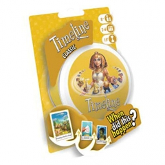 Asmodee ASMTL03CLEN Timeline Classic Blister, Mixed Colours