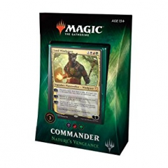 Magic The Gathering Commander 2018 - Nature's Vengeance