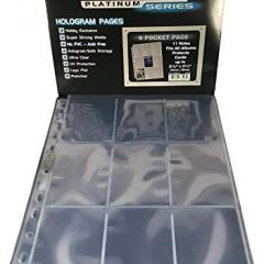 Ultra-Pro Platinum 9-Pocket Hologram Pages (100 pcs.)