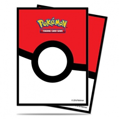 Ultra Pro 14575 Pokemon Poke Ball Deck Protector Sleeve (Pack of 65)