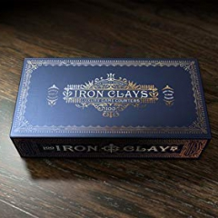 Iron Clays 100 Luxury Game Counters Kickstarter - for Brass board game
