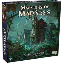 Fantasy Flight Games FFGMAD28 Mansions of Madness 2nd Edition: Path of The Serpent Expansion, Mixed Colours