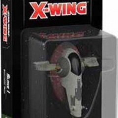 Fantasy Flight Games FFGSWZ16 Star Wars X-Wing: Slave I Expansion Pack, Mixed Colours