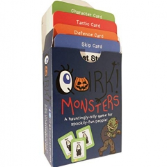 Quirk! Monsters - The Act-It-Out, Monster Card Game for all the Family!