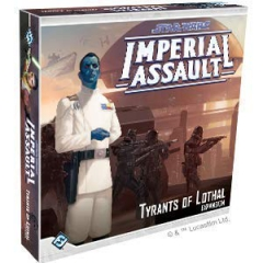 Fantasy Flight Games FFGSWI54 Star Wars Imperial Assault: Tyrants of Lothal, Mixed Colours