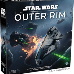 Fantasy Flight Games FFGSW06 Star Wars: Outer Rim, Multicoloured