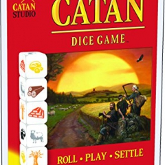 "Mayfair Games MFG03120 ""Catan Clamshell Edition"" Dice Game"