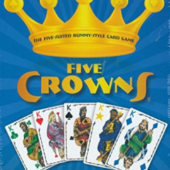 Esdevium Games FIV001 Five Crowns Card Game