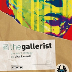 The Gallerist - Board Game - English - Italiano