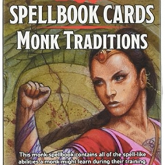 Dungeons & Dragons - Spellbook Cards - Monk Traditions
