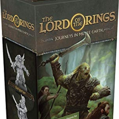 Fantasy Flight Games FFGJME04 Lord of The Rings: Journeys in Middle-Earth-Villains of Eriador, Mixed Colours