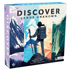 Fantasy Flight Games FFGDSC01 Discover: Lands Unknown, Mixed Colours