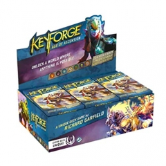 Fantasy Flight Games Keyforge Age of Ascension Deck Display Box - includes 12 Age of Ascension Decks
