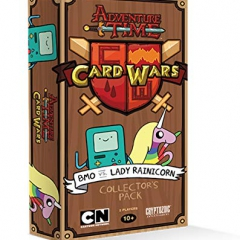 Cryptozoic Entertainment Adventure Time Card Wars BMO vs Lady Rainicorn Card Game