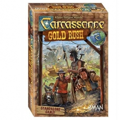 Z-Man Games ZMG78640 Carcassonne Gold Rush Board Game