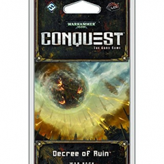 Warhammer 40,000 Conquest Lcg: Decree of Ruin War Pack