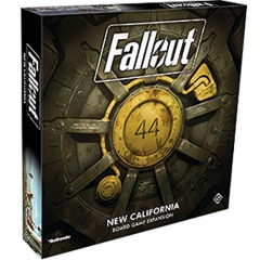 Fantasy Flight Games FFGZX03 Fallout California Expansion, Mixed Colours