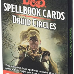 Dungeons & Dragons - Spellbook Cards - Druid Circles