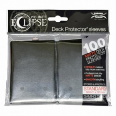 Ultra Pro UPR85601 Eclipse Standard Pro Matte Card Sleeves, Black