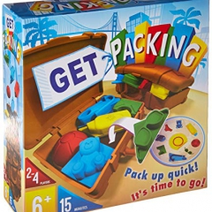 Asmodee Editions ASMSF01EN Get Packing, Mixed Colours