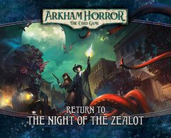 Fantasy Flight Games Return to the Night of the Zealot Expansion - Arkham Horror the Card Game LCG