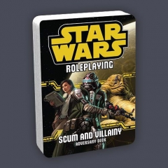 Star Wars Adversary Deck Scum and Villainy RPG Board Game