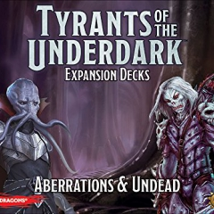 Dungeons & Dragons Tyrants of the Underdark Expansion Aberrations & Undead Board Game