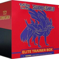 Pokemon TCG: Sword & Shield Elite Trainer Box - Zacian