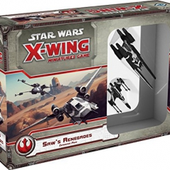 FFG Star Wars X-Wing Miniatures Saw's Renegades Expansion Pack