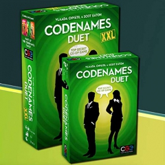 Czech Games Edition CGE00053 Codenames Duet XXL, Mixed Colours