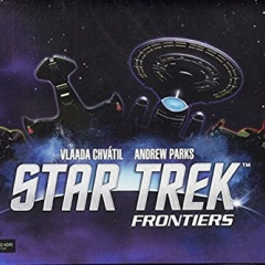 "WizKids WZK72050 ""Star Trek Frontiers"" Game"