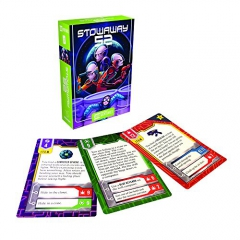 Gamewright Cardventures Stowaway 52 Card Game