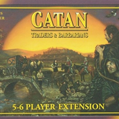 Mayfair Settlers Traders and Barbarians 5 and 6 Player Expansion