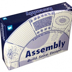 Wren Games Assembly Board Game - An Addictive & Mind-Bending Escape Puzzle Card Game (2-player Cooperative or Solo)