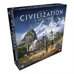 Civilization A New Dawn - Terra Incognita Expansion Board Game