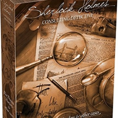 """Asmodee Editions ASMSCSHDC01US """"Sherlock Holmes Consulting Detective Thames Murders"""" Game"""