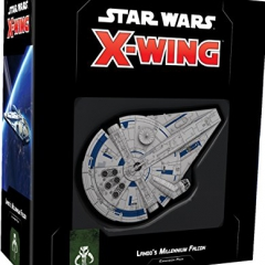Fantasy Flight Games FFGSWZ04 Star Wars X-Wing: Lando's Millennium Falcon Expansion Pack, Mixed Colours