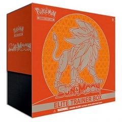 Pokemon TCG: Sun & Moon Elite Trainer Box Solgaleo