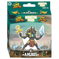 Iello KOT_MP_Anu King of Tokyo Anubis Monster Pack Board Game Character, Multicolour